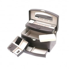 euclide / portagioie 1 cassetto automatico c/specchio